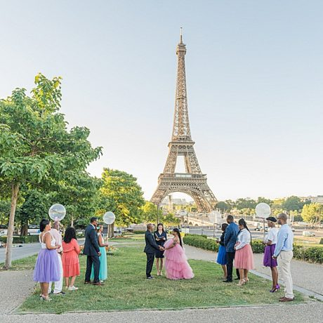Vow renewal in Paris : Micha + Shawn