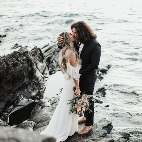 Mini Wedding in Maui : Michelle + Sean