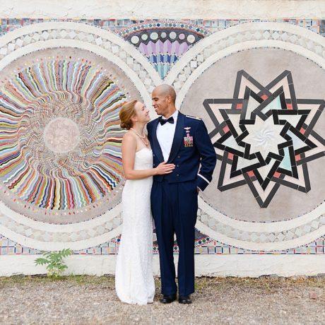 Intimate Albuquerque B&B Wedding: Andrea + Brandon