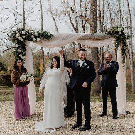Brunch Wedding in New York : Leah + Tim