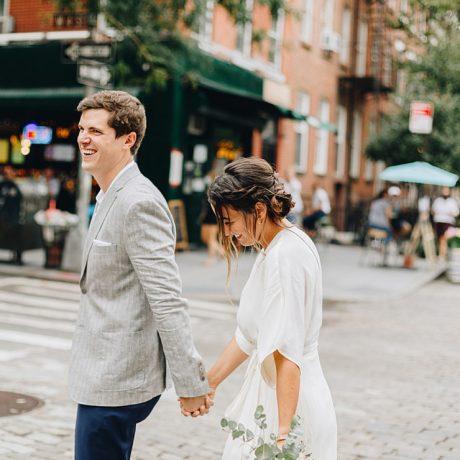 Manhattan Rooftop Microwedding: Sonia + Aaron