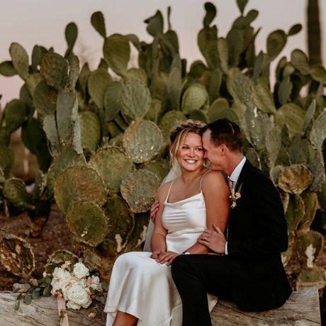 Intimate Desert Wedding in Arizona: Madison + Patrick