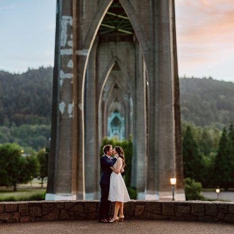 Portland Elopement : Nicole + Paul