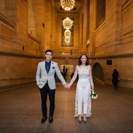 New York City Hall Wedding : Jal + Sean