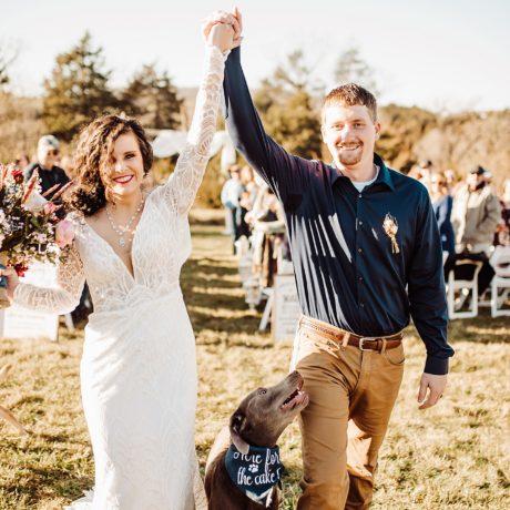Mountain View Wedding in Virginia : Kristen + Cody