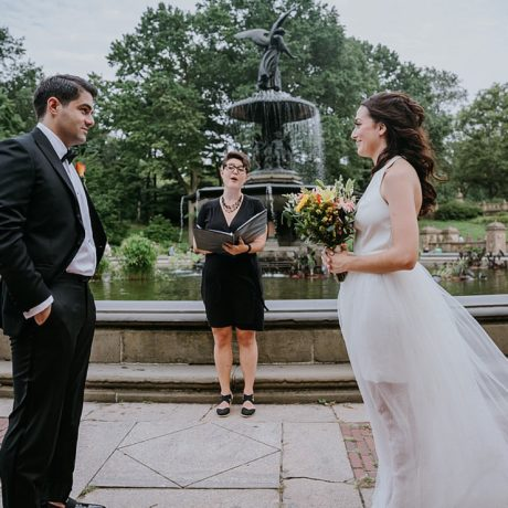 Central Park Elopement NYC : Claudia + Isaac