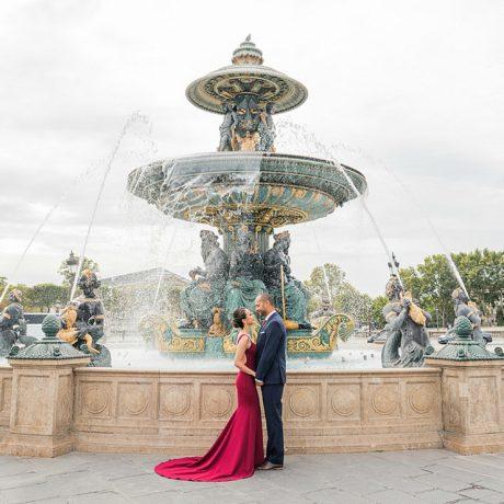 Microwedding in Paris: Jenny + Nate