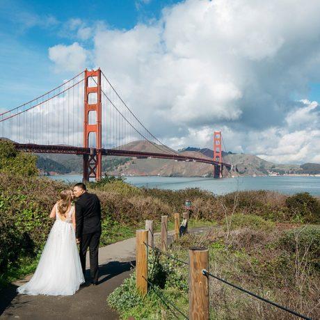San Fransisco Zoom Elopement : Lauren + Luis