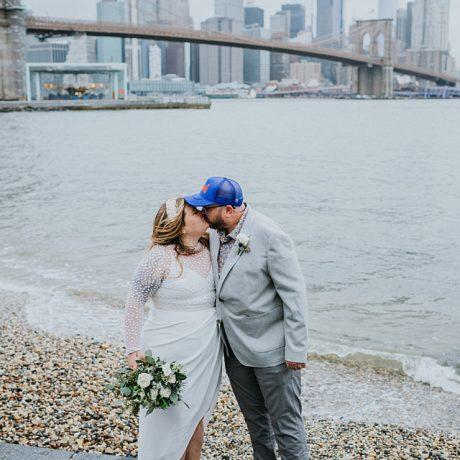 Brooklyn Bridge Elopement : Jordan + Jason